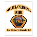 Needles California Police Small Poster