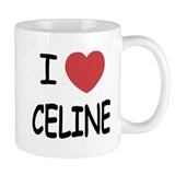 I heart Celine Mug