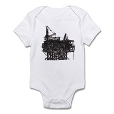 Vintage Oil Rig Infant Bodysuit