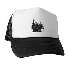 Vintage Oil Rig Trucker Hat