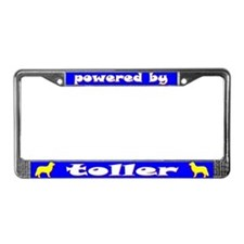 Powered by Toller License Plate Frame