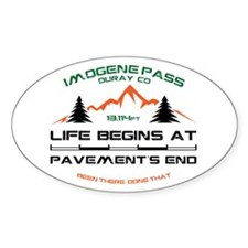 Imogene Pass Decal