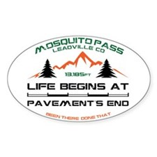 Mosquito Pass Decal
