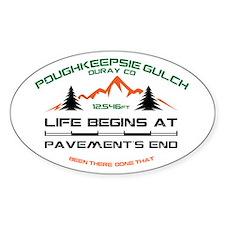 Poughkeepsie Gulch Decal