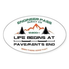 Engineer Pass Decal