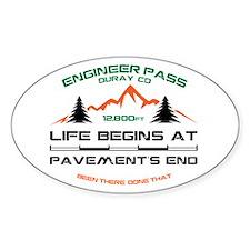 Engineer Pass Decal