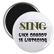 "LOVE TO SING 2.25"" Magnet (10 pack)"