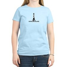Ocracoke Island - Lighthouse Design T-Shirt