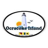 Ocracoke Island - Lighthouse Design Decal