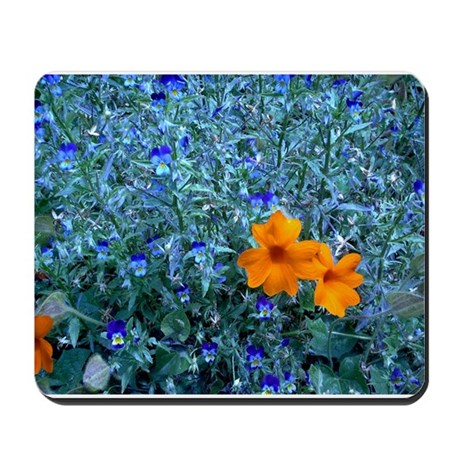 Electric Blue Mousepad