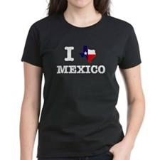 Unique I heart texas Tee