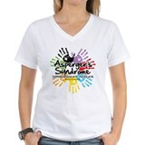 Asperger's Syndrome Handprint Shirt