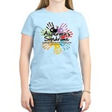 Asperger's Syndrome Handprint T-Shirt