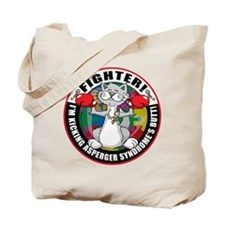 Asperger's Syndrome Fighter C Tote Bag