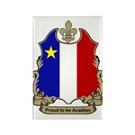 Proud Acadian Rectangle Magnet