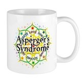 Asperger's Syndrome Lotus Mug