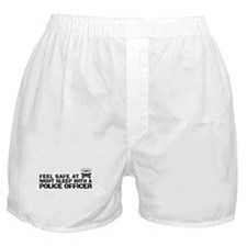 Funny Police Officer Boxer Shorts