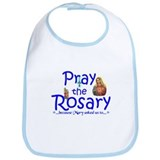 Pray the Rosary - Baby Bib (b)