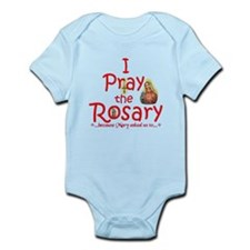 Pray the Rosary - Infant Bodysuit pick a color (c)