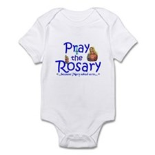 Pray the Rosary - Infant Bodysuit pick a color (b)