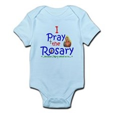 Pray the Rosary - Infant Bodysuit pick a color (a)