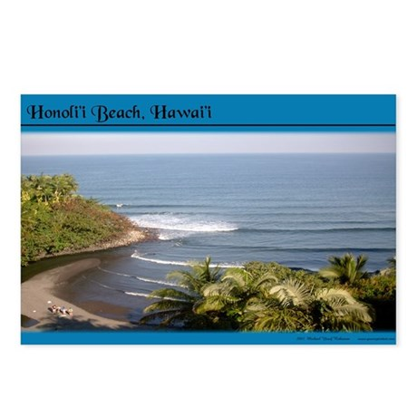Honoli'i Beach Postcards (Package of 8)