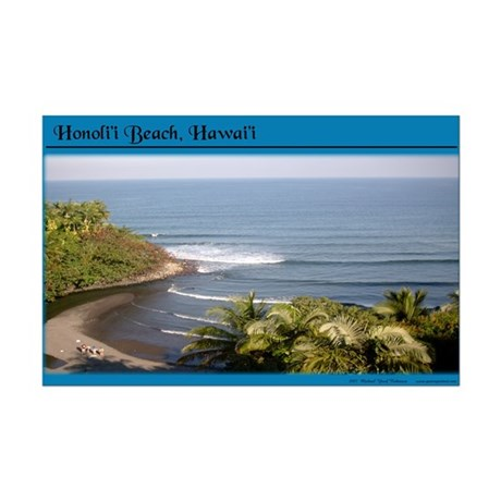Honoli'i Beach Mini Poster Print