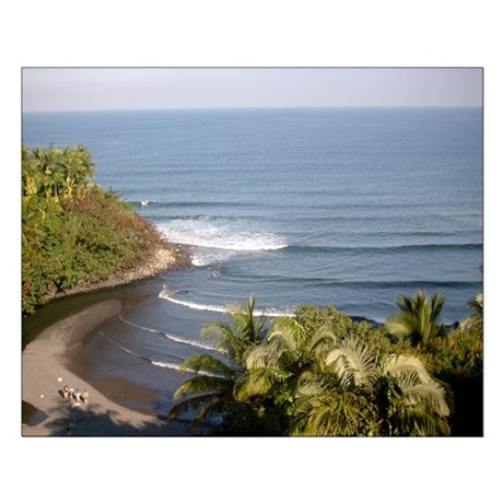 Honoli'i Beach Small Poster