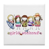 Girls' Weekend - Tile Coaster