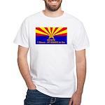 SB1070 White T-Shirt
