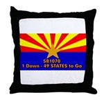 SB1070 Throw Pillow