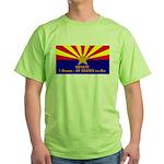 SB1070 Green T-Shirt