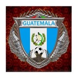 Guatemala Soccer Tile Coaster