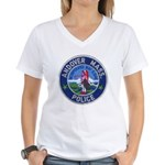 Andover Massachusetts Police Women's V-Neck T-Shir