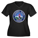 Andover Massachusetts Police Women's Plus Size V-N