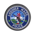 Andover Massachusetts Police Wall Clock