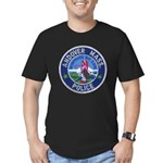 Andover Massachusetts Police Men's Fitted T-Shirt