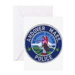 Andover Massachusetts Police Greeting Card