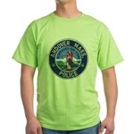 Andover Massachusetts Police Green T-Shirt