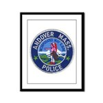 Andover Massachusetts Police Framed Panel Print