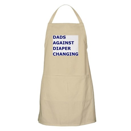 Dads Against Diaper Changing BBQ Apron