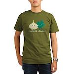 Garlic & Gaelic Organic Men's T-Shirt (dark)