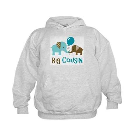 Big Cousin - Elephant Kids Hoodie