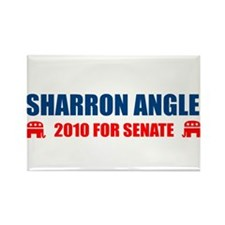 Cute Sharron angle Rectangle Magnet