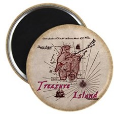 Treasure Island Magnet