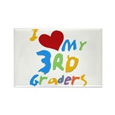 I Love My 3rd Graders Rectangle Magnet (100 pack)
