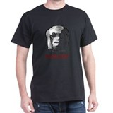 Mars Face is watching you. Black T-Shirt