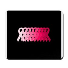 Breast Cancer Awareness Ribbo Mousepad