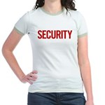 Security (red) Jr. Ringer T-Shirt