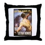 Let Em Have It Throw Pillow
